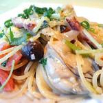 デ・ボン・クール - 牡蠣のクリームパスタ