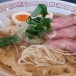 66816371 - 特製中華そば 塩(極細麺で注文)