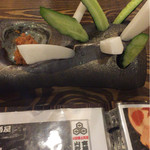 浜焼太郎 - キュウリ&大根でスッキリ