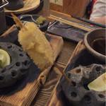 浜焼太郎 - 串揚げ