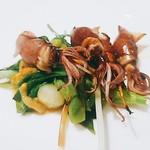 bb9 - ホタルイカ&山菜