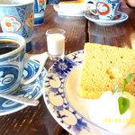 もうひとつの風景 - シナモンシフォンケーキ