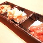 66820720 - チーズと和食素材の組み合わせサイコー♡