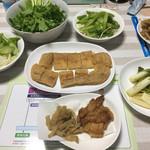 白川とうふ店 - 産直回ったら、野菜だらけ(≧∇≦)