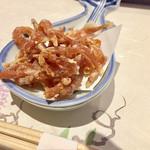 三田 竹若 - 白魚唐揚げ