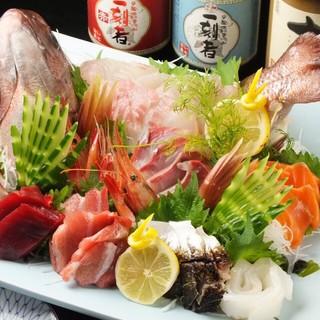 【鮮度とお値段の秘密は独自の仕入れ力】横浜中央市場直送の食材