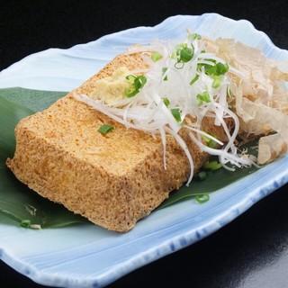 【人気の揚げ出し豆腐】一品一品に真心を込めて美味しく大満足!