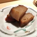 鮨 行天 - たいらき味噌漬け