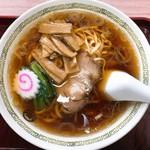 上州屋 - 料理写真:中華そば(550)