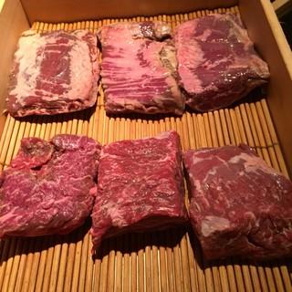 熟成焼肉 肉源 赤坂店 - 熟成肉はハラミとカイノミ