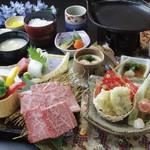 ジョイフル銀鈴 - 料理写真:初夏の和牛鉄板焼き和膳