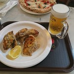 66829685 - 鶏のジラロースト、生ビール