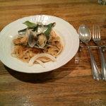 6683762 - 野菜とアサリのパスタ