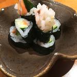 旬魚処 海蔵 - 赤貝を鮨にしてくれました(^ ^)