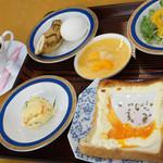 バングラキッチン - トーストモーニング 350円+49円