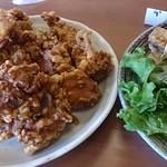 地鶏専門店 鳥ヶ島 - から揚げ