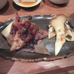野饗 - 「鴨の朴葉味噌」