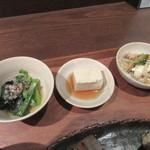 野饗 - 小鉢3品