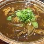 66834783 - 蕎麦屋のカレー丼(Rp.8000)