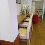 キッチンカフェ ペスカ - カウンター席