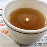 66835738 - コンソメスープは味濃い^^;
