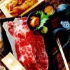 黒獅子 - 料理写真:雲丹と和牛肉寿司