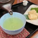 緑茶処両国茶ら良 - セットの煎茶