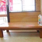 とんぺい - 座敷席