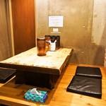 麺屋 極鶏 - 店内(小上がり)