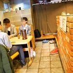 麺屋 極鶏 - 店内(テーブル席)