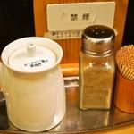 麺屋 極鶏 - 玉子かけご飯の醤油