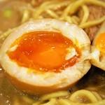 麺屋 極鶏 - 煮玉子