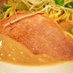 麺屋 極鶏 - 極鶏 鶏だく(チャーシュー)