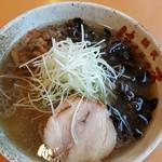 麺武 はちまき屋 - 塩ラーメン 770円 + キクラゲ 40円
