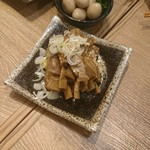 nikujirugyouzanodandadan - メンマ