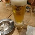 肉汁餃子製作所ダンダダン酒場 - 生ビール