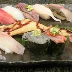沼津魚がし鮨 二代目魚がし - 近海握りDX