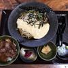 蕎麦 脇本 - 料理写真:飛騨牛ミニステーキ丼+山菜自然薯そば 税込2,900円