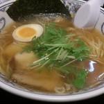 にぼらや - ・煮干しラーメン(ごはん付) 780円