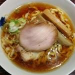 麺 みつヰ - 中太手もみ麺、醤油(750円)