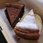 ル・プティ・ポワソン - ガトーショコラとチーズケーキ