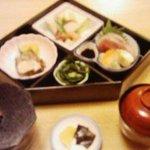 万平 - 江戸弁当定食1260円
