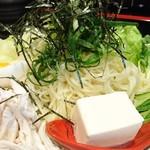 鯉のぼり - つけ麺   別アングル
