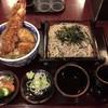 Shimahikohonten - 料理写真:天丼セット(ざるそば)
