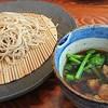 手打ち蕎麦 やの志ん - 料理写真:鴨と菜の花の限定つけせいろ     ¥1100