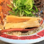 麺屋 八頭龍 - 極太メンマ