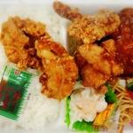 ほかほか弁当 - 料理写真:唐揚バーグ弁当は550円でした