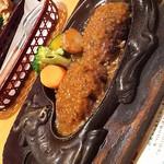 炭焼きレストラン さわやか - おにぎりハンバーグ(2017年5月10日)