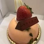 66856363 - 苺と桜あんのプランタニエ(476e円)