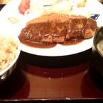 大かまど飯 寅福 - 味噌ロースカツ定食